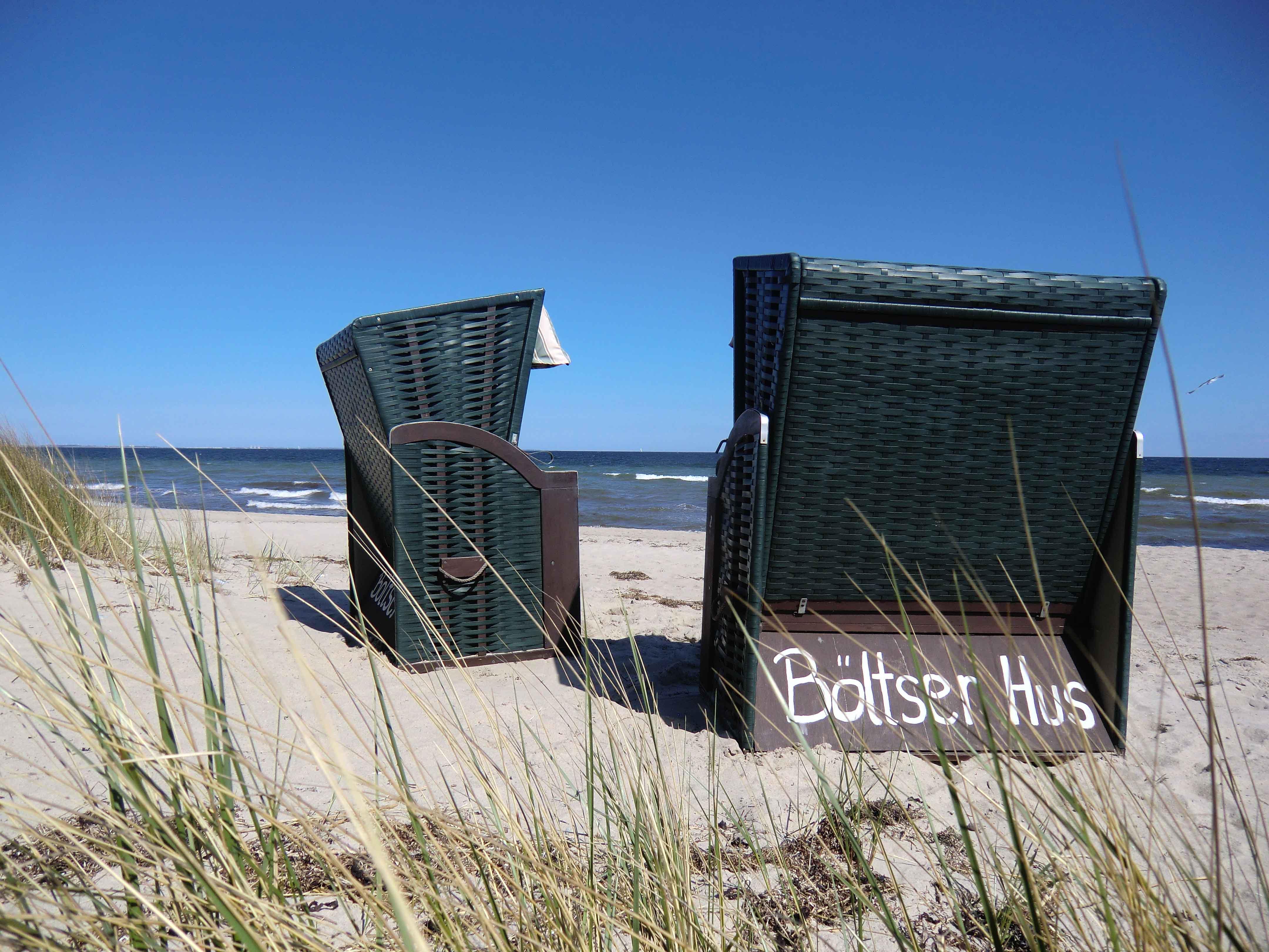 Strandkörbe inklusive